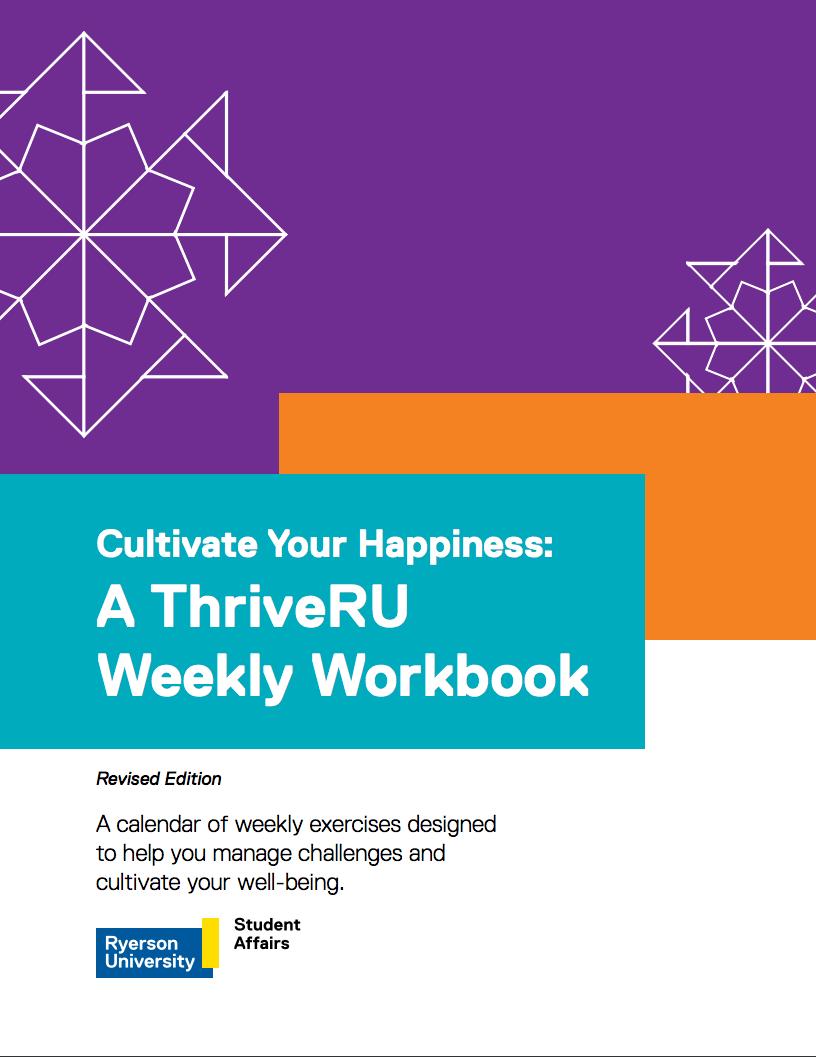 ThriveRU Weekly Workbook